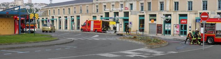 panoramique de la gare d'Angoulême